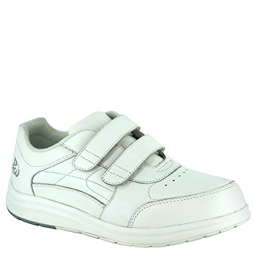 P.W. Minor Women's Performance Walker Double Strap White Glove 10 WW Minor Womens Performance Walker