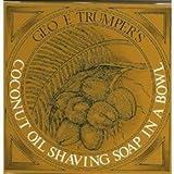 Coconut Oil Shaving Geo F. Trumper Coconut Oil Shaving Soap in Wooden Bowl