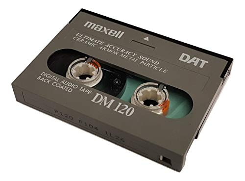 Maxell R-120DM DAT Audio Cassette (1-Pack)