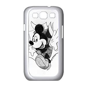 Disney Mickey Mouse Minnie Mouse Samsung Galaxy S3 9300 Cell Phone Case White JN783356