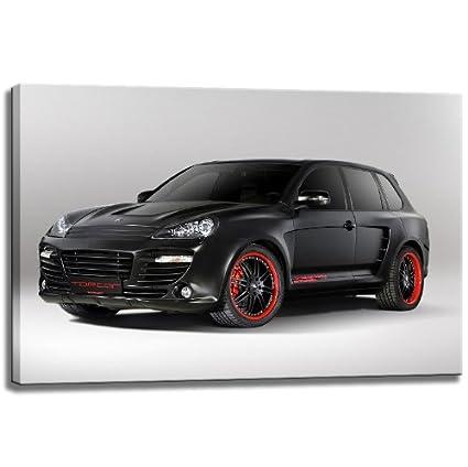 Porsche Cayenne, imagen de la lona, ??tamaño: 80x60 cm pintura,
