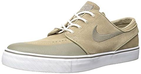Nike SB Air Zoom Stefan Janoski OG Reed Stone Rocky Tan Skate Shoes-Men 8.0, Women 9.5 - Reed & Barton Airplane