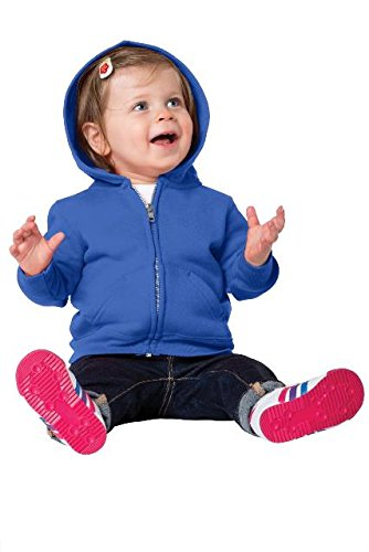 Precious Cargo unisex-baby Full Zip Hooded Sweatshirt 06M Royal - Blue Infant Sweatshirt