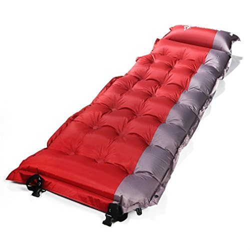 SELF INFLATING Camping Sleeping Pad Mat Mattress Bed OUTAD Extra Thick...