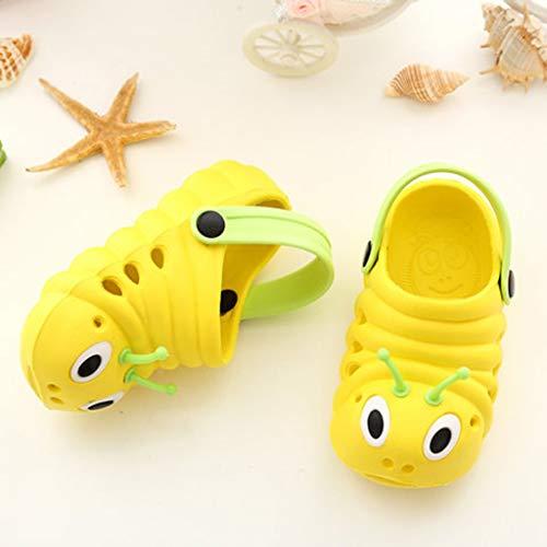 Sandali Bambini Moda Sabot Casual pantofole Unisex E Zoccoli Antisdrucciolevole Bambina sandali Bambino Zarupeng Estivi Giallo Per Scarpe Pantofole Bambini Spiaggia 5AUnqxTOwv