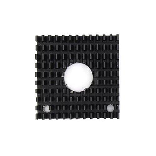 Goliton 1 Stü ck 3D Drucker Aluminium Kü hlkö rper Makerbot Zusä tze MK7 / MK8 CPU Heizkö rper Kü hlblock 40 * 40 * 11 MM - Schwarz POW.032.029.441.XXB