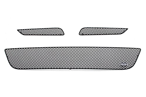 (GrillCraft H1137-38B MX Series Grille Upper/Lower Insert Kit Steel Mesh Pattern Black Powder Coat Top Finish Includes Upper Insert PN[HON1137B]/Lower Insert PN[HON1138B] MX Series Grille Upper/Lower Insert Kit)