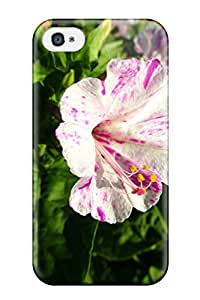 Premium RNflvyD1304sDyTV Case With Scratch-resistant/ Flower Case Cover For Iphone 4/4s