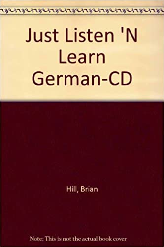 Amazon com: Just Listen 'N Learn German The Fastest Way To