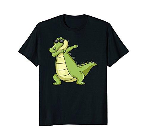 Dabbing Alligator T-shirt Men Women Kids tee -