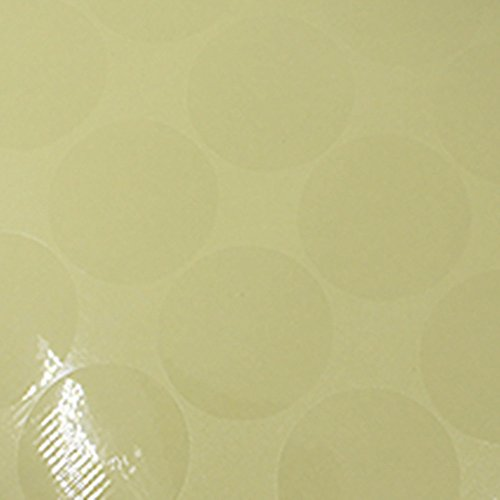 Circles Clear Dots Label Sticker Sheet Adhesive Transparent Multifunction Waterproof Stickers Merchandise Kitchen Storage Plastic Seals Gift Decorative (2cm(0.8 inch) Diameter/ 25000 Pcs)