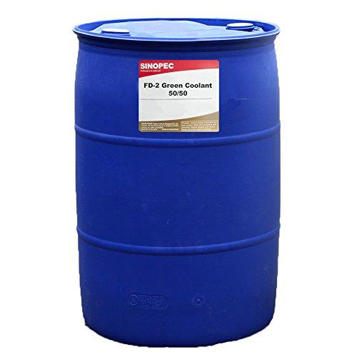 Sinopec Green HD Coolant/Antifreeze 50/50 - 55 Gallon Drum by Sinopec