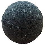 MIDNIGHT Jet Black Bath Bomb By Soapie Shoppe EXTRA LARGE Bath Bomb 7-8 oz. N...