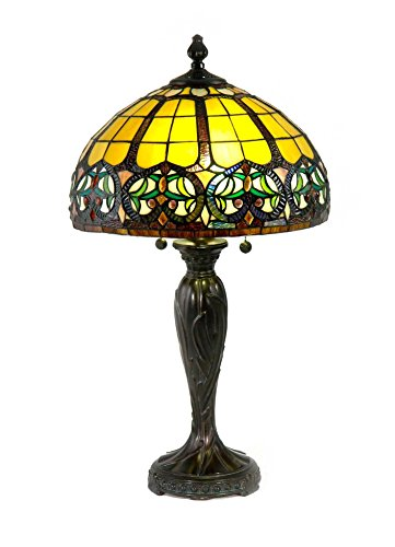 (Springdale by Dale Tiffany STT17142 Reservoir Tiffany Table Lamp)