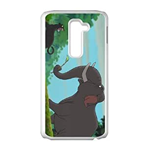 LG G2 Cell Phone Case White Disney The Jungle Book Character Colonel Hathi