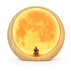 Why choose the Moon Ambient Light by Mamre? - Looking for a great personalized gift for your wife, husband, girlfriend, boyfriend, lover or soulmate? Moon Ambient Light will definitely suprise him/her, for he/she've never seen such a unique a...
