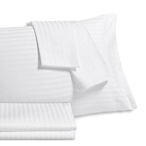 Equinox Pillow Protectors, (2-Pack Queen Size) 20 x 30 Premium Allergy Protection, Hypoallergenic, Anti-Microbial, Dust Mite Resistant, 300 Thread Count 100% Cotton Zippered Pillow Covers, White