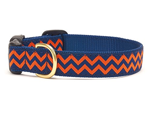 S (Wide) Up Country Chevron Dog 1 Collar Small (9-15) Wide 1) by Up Country