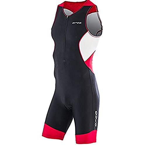 Orca Men's Core Tri Race Suit (Poinsettia, Large)