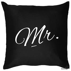 Cojín con relleno. Mr.–Original–Cojín decorativo (ecklusiv como regalo para él. Sofá Cojín, Cojín