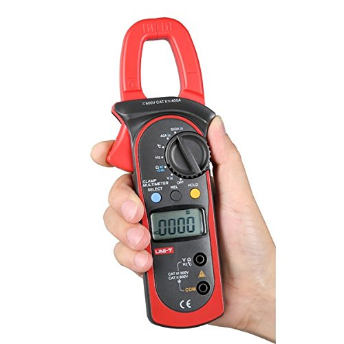 Universal Jumper Lead Set (UT203 Digital Clamp Multimeter DC AC Current Voltmeter Tester)