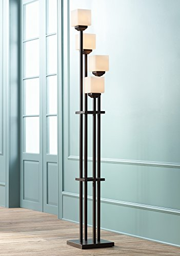 Light tree four light bronze torchiere floor lamp amazon aloadofball Gallery