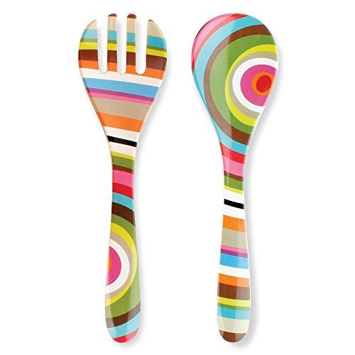 French Bull Salad Server 2 Piece Set - Melamine Dinnerware - 13