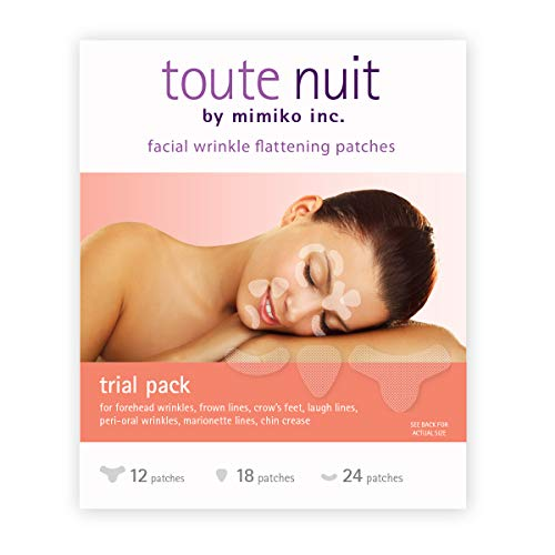 Toute Nuit Facial Wrinkle Flattening Patches - TRIAL PACK 3 Shapes (Anti-Wrinkle Patches/Face Tape)