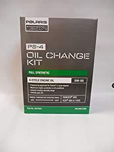 Polaris 2013 Ranger RZR 900 XP Oil Change Kit PS-4 Oil