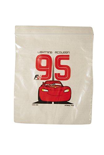 Disney Sandwich Snack Resealable Ziploc Bags, 3-Pack (60 Bags), Cars