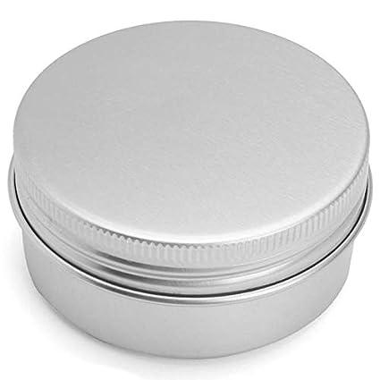 916c8dee5e02 Storage Boxes & Bins - 24pcs 50g Empty Tin Cans Box Silver Aluminum ...