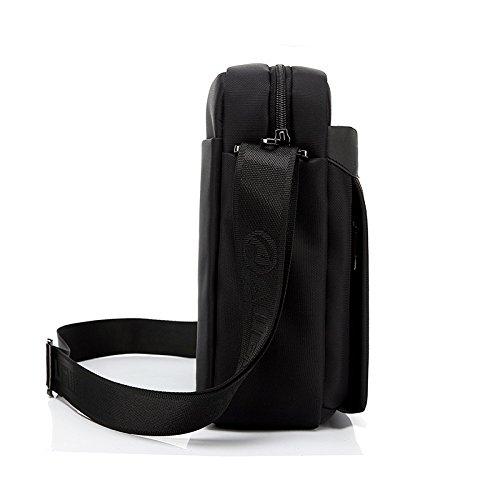 Perfectii Mens Shoulder Crossbody Bags Male Vintage Executive Briefcase f