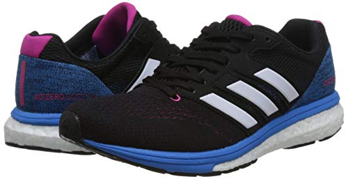 7 Comptition De Magenta Black White real Adidas ftwr W Chaussures F18 Boston Adizero core Femme Running Noir qUT0wE