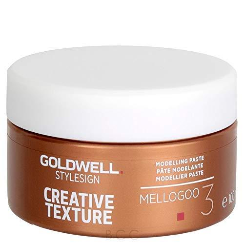 - Goldwell Style Sign 3 Mellogoo Modelling Paste for Unisex Fine Hair, 3.3 Ounce