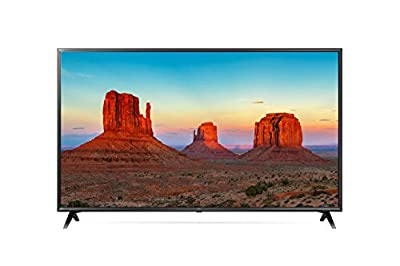 "LG 50UK6300BUB 50-Inch 50"" 4K HDR Smart LED 2160P Ultra HD UHD TV TruMotion 120 w/AI ThinQ"