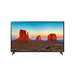 LG 50UK6300BUB 50-Inch 50″ 4K HDR Smart LED 2160P Ultra HD UHD TV TruMotion 120 w/AI ThinQ