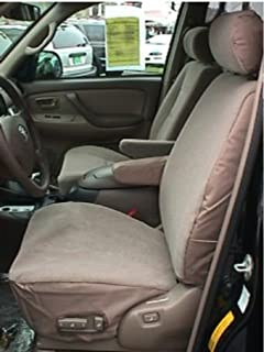Durafit Seat Covers T695 X3 Made In Dark Tan Twill For Toyota