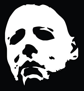 Amazon Com Crawford Graphix Michael Myers Creepy Half Face 11