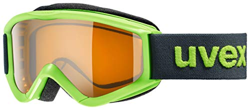 Uvex Speedy Pro Goggles - Kids' Light Green/Lasergold, One Size (Uvex Speedy Pro)