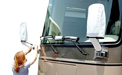 Dupont Tyvek RV Class A Side Mirror and Windshield Wiper Covers - 2 Year Warranty!