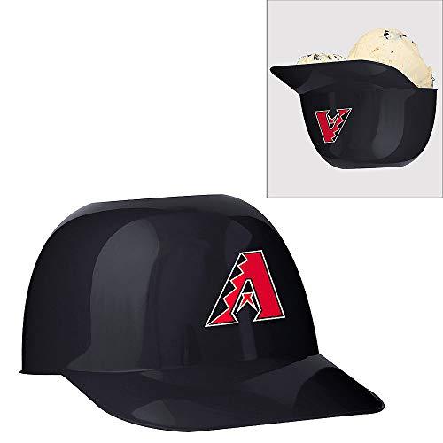 Official MLB Mini Baseball Helmet 8oz Ice Cream/Snack Bowls, 1 Count, Arizona -