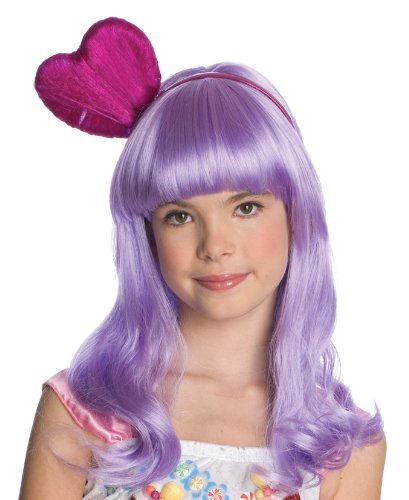 Amazon.com: Katy Perry Childs California Gurl Purple Costume Wig: Toys & Games