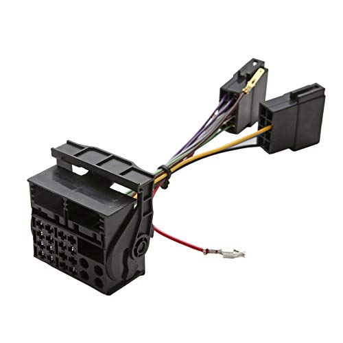 Vauxhall Vivaro ISO to Quadlock Conversion Lead Wiring Loom Harness Adaptor: