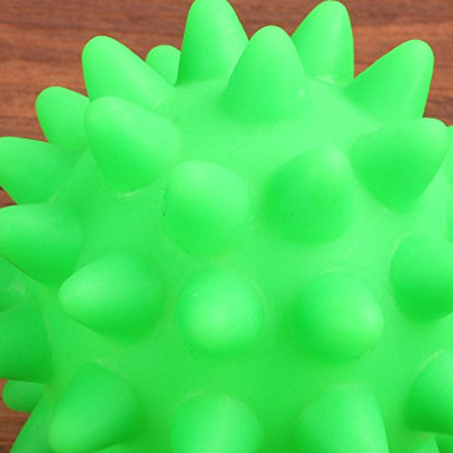 callm Pet Dog Cat Toy,Beautiful New Rubber Ball Toy Dog Pet Fun Ball Biting Toys and Chewing for Having Fun Exerciser Playing (Random) by callm (Image #4)