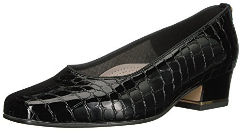 ara Women's Gada Pump,Black Croco,7 W US ()