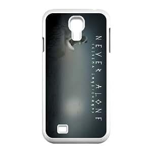 Samsung Galaxy S4 9500 Cell Phone Case White Never Alone Kisima Ingitchuna L6C8EL