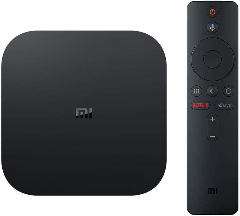 Xiaomi Mi Box 4K Android TV Box - Black