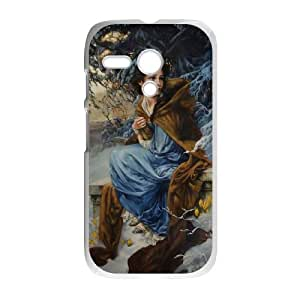 Disneys Beauty And The Beast Motorola G Cell Phone Case White TPU Phone Case SY_729338