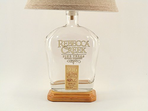 REBECCA CREEK Whiskey Bottle Lamp