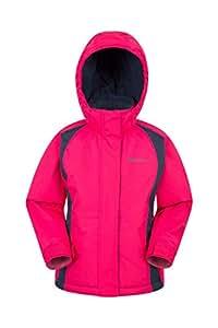 4593c27089 Amazon.com   Mountain Warehouse Honey Kids Ski Jacket - Boys   Girls Winter  Coat   Sports   Outdoors